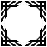 另外的多孔黏土eps格式框架以图例解释者包括向量 免版税库存图片