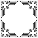 另外的多孔黏土eps格式框架以图例解释者包括向量 免版税库存照片