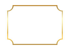另外的多孔黏土eps格式框架金以图例解释者包括 美丽简单 库存照片