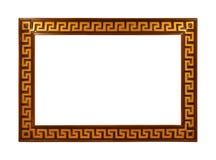 另外的多孔黏土eps格式框架金以图例解释者包括 免版税图库摄影