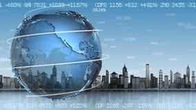 另外的背景企业格式 股票视频