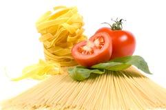 另外种类意大利面食 免版税库存图片