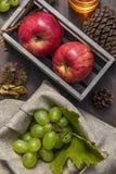 另外种类的构成果子 图库摄影
