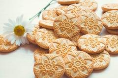 另外种类曲奇饼 免版税库存图片