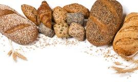 另外种类的分类面包店 图库摄影