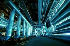 另外管道工厂次幂形状的范围 库存照片