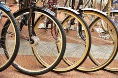 另外轮子自行车 库存照片