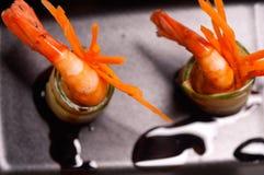 3818095只五颜六色的大虾虾开胃菜快餐 图库摄影