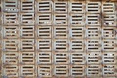 42只小金属笼子装配  免版税库存图片