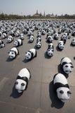 1600只熊猫在泰国 库存图片