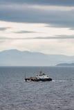 175只脚美国海岸卫队切削刀小的安东尼 免版税库存照片