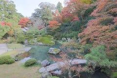 叫作Awata宫殿的寺庙的申英澈小室Shoren 库存照片