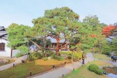 叫作Awata宫殿的寺庙的申英澈小室Shoren 库存图片