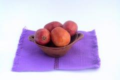 叫作jobo、流浪汉或者yuplon的墨西哥热带水果 免版税图库摄影