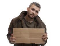 叫化子纸盒藏品 库存照片
