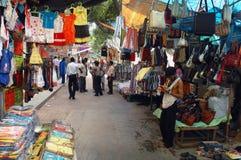 叫卖小贩kolkata街道 免版税图库摄影