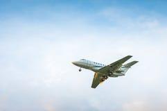 叫卖小贩Beechcraft 125-800XP M-VITO 免版税库存照片