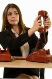 叫电话 免版税库存图片