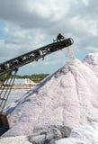 叫的人为水池包括堆海岛意大利其磨房许多生产长方形卓越的路盐海运西西里岛赤土陶器trapani 图库摄影