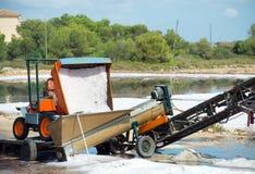 叫的人为水池包括堆海岛意大利其磨房许多生产长方形卓越的路盐海运西西里岛赤土陶器trapani 库存图片