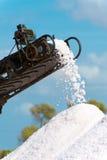 叫的人为水池包括堆海岛意大利其磨房许多生产长方形卓越的路盐海运西西里岛赤土陶器trapani 免版税库存图片