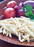 叫的典型的Calabrian面团 库存照片