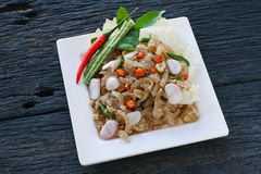 叫的泰国开胃菜食物 库存图片