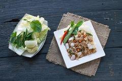 叫的泰国开胃菜食物 免版税库存照片
