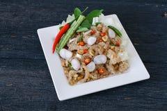 叫的泰国开胃菜食物 库存照片