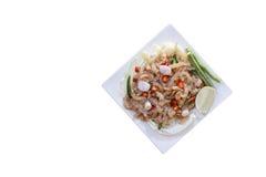 叫的泰国开胃菜食物 免版税图库摄影