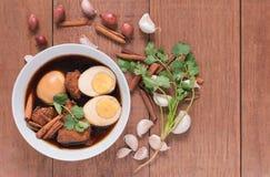 叫的泰国烹调,泰国食物 图库摄影