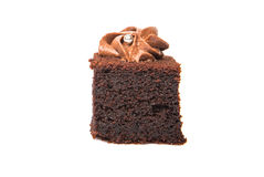 叮咬大小的巧克力蛋糕XIV 图库摄影