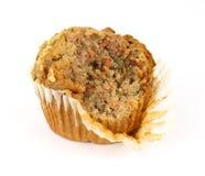 叮咬蛋糕红萝卜有食用松饼一 免版税库存图片