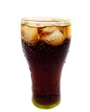 可乐冰 免版税库存图片