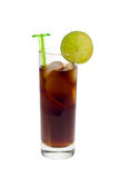可乐冷饮料冰 库存图片