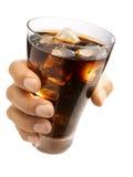 可乐现有量藏品 免版税库存照片