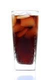 可乐玻璃 库存照片