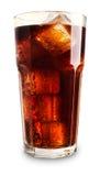 可乐玻璃 库存图片