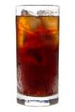 可乐玻璃 免版税库存照片