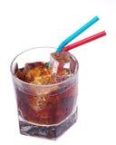 可乐秸杆 免版税图库摄影