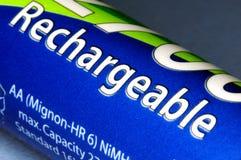 可再充电的电池 免版税库存照片