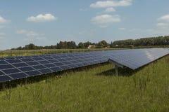 可再造能源系统 库存照片