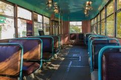 可利用的公共交通工具 图库摄影