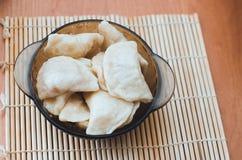 可口乌克兰饺子 库存照片