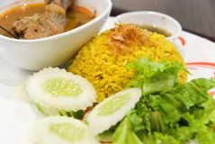 可口亚洲食物 免版税图库摄影