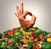 可口健康食物概念 图库摄影