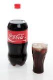 可口可乐刷新 库存图片