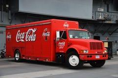 可口可乐卡车 库存图片