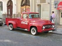 可口可乐搬运车 库存图片
