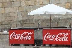 可口可乐摊 免版税图库摄影